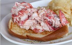 Lobster Roll made one today using Chef Emeril's recipe as a base. 1 lobster, cleaned. 1Tbsp Best Food Mayo, 1Tbsp Greek Yoghurt, 1 Tbsp lemon juice, 1 scallion chopped fine, 2 pc cooked bacon all on a sesame bun. YUM!!!