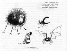 The Elements~by Tim Burton~