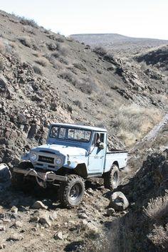 Land Cruiser truck Lost Trail, Owhyhee Mountains, Idaho.  Yes, the name is Hawaiian.