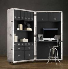 blackhawk folding secretary | 80 Superb Storage Concepts - From Clear Multipurpose Crates to Modular ...
