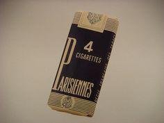 1940's French cigarette packet by dlisbona, via Flickr