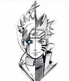 ✔ Anime Dibujos A Lapiz Goku Naruto Vs Sasuke, Anime Naruto, Otaku Anime, Fan Art Naruto, Naruto Uzumaki Art, Wallpaper Naruto Shippuden, Naruto Drawings, Naruto Sketch Drawing, Anime Drawings Sketches