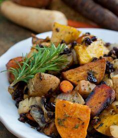 Ratatouille de legumes no forno