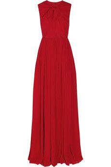 Giambattista Valli - Silk-georgette gown