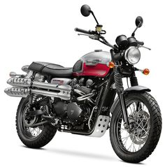 2014 Scrambler. Steve McQueen's bike (not the guy who directed 12 Years a Slave). Granted, I'd want to get a different paint job.