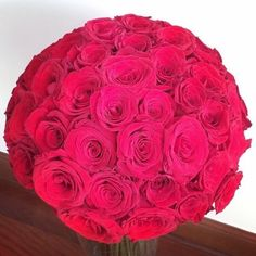 Ultra Luxury Extra Large Rose Dome - Simply fantastic and available for NYC delivery same-day.