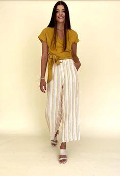 LILIANA TROUSERS Jogger Pants, Joggers, Riga, Trousers, Street Style, Skirts, Cotton, Tops, Fashion