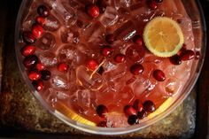 Basically I now host a Thanksgiving morning cocktail hour. Please, no judgment. This year, in addition to Bloody Mary's, I am also going to put this incredible Spiced Cranberry Prosecco Punch.