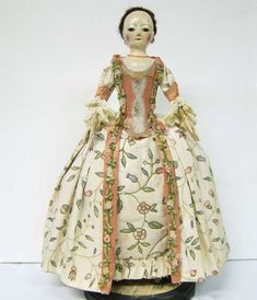 english wooden doll pattern | ... reproduction of an English style wooden doll . Her Name is Lady Rose