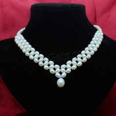 Natural #Freshwater #Pearl #Necklace #Sterling #Silver #Lobster #Clasp, Your Best Choice.