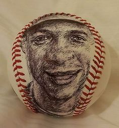 DARRYL STRAWBERRY original art on Official Major League Baseball, NY METS