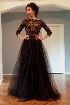 2015 Plus Size Prom Dresses With Long Sleeve A Line V Neck Cheap