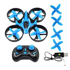 BTG JJRC H36 Mini UFO Quadcopter Drone 24G 4CH 6 Axis Headless Mode Remote Control RC Quadcopter Drone Nano Quadcopter RTF * You can get additional details at the image link.