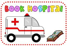 Book Hospital label (already downloaded) KinderTastic