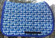 LA Dodgers Olympic saddle pad