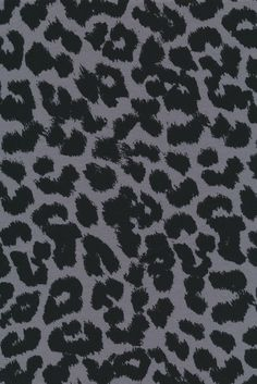 Øko-bomuld/lycra m/dyreprint, leopard grå/sort