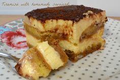 Bread and Butter.....: Tiramisu' con savoiardi fatti in casa!!!