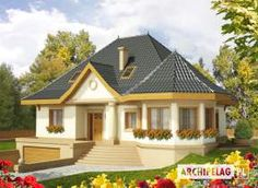 Decorating Your American Bungalow Style House My House Plans, Modern House Plans, Beautiful House Plans, Beautiful Homes, Small House Design, Modern House Design, Bungalow Style House, Casas Country, House With Porch