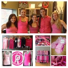 In celebration of breast cancer research and awareness this October, Pure Barre is sweating pink! From special PB Sticky Socks that benefit Bright Pink to hot pink lululemon athletica gear to rosy Lily and Laura bracelets and EmiJay Inc. hair ties and of course our signature PB attire, we've got you covered to spread breast cancer awareness in style!