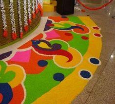 Special Rangoli Design For Diwali Festival 2