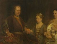 Hermanus Boerhaave (1668-1738), Professor of Medicine at the University of Leiden, with his Wife Maria Drolenvaux (1686-1746) and their Daughter Johanna Maria (1712-91), Aert de Gelder, 1720 - 1725 - Search - Rijksmuseum
