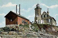 Passage Island Lighthouse, Michigan at Lighthousefriends.com
