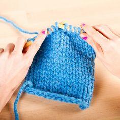 Beginner Knitting 2: Easy Stockinette Stitch by Kollabora | Skillset | Knitting | Kollabora