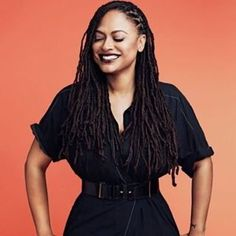 Women Film Directors - Ava DuVernay wins the Film Maker Award at the. Dreadlock Styles, Dreadlock Hairstyles, Cool Hairstyles, Locs Styles, Dreads, Nu Locs, Natural Hair Care, Natural Hair Styles, Hair Journey