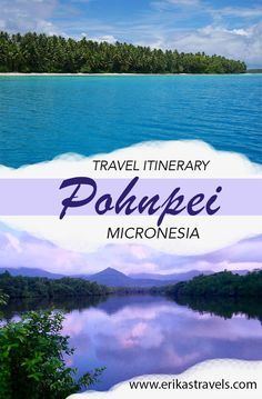 This travel guide highlights the top activities and things to see in Pohnpei, Micronesia. Travel Guides, Travel Tips, Travel Destinations, Budget Travel, Beautiful Islands, Beautiful Beaches, China Travel, South Pacific, Australia Travel
