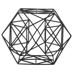 IKEA - LINDRANDE, Decoration, hexagonal black, Nice as a table decoration, for example. Home Decor Accessories, Decorative Accessories, Decorative Items, Teller Set, Shoe Storage Cabinet, Decoration Table, Glass Domes, Tea Light Holder, Trinket Boxes