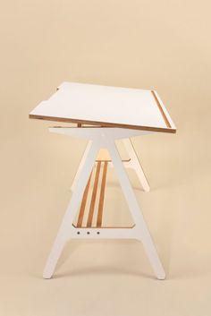A Desk White