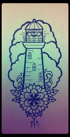 lighthouse tattoos Tumblr | Tattoos | Tattoo Pictures | Culture ...