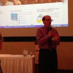 Wayne Breitbarth talking on LinkedIn