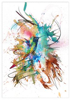 Perfectly Still 50 x 70cm on Bockingford 535gsm Watercolour Paper by Carne Griffiths
