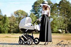 Por fin el sueño de un carrito de bebé blanco que no se ensucia y puedes usarlo en cualquier terreno gracias a la eco-piel. Y con mucho estilo