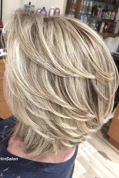 60 Lustige Und Schmeichelhafte Mittlere Frisuren Für Frauen