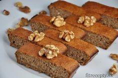 Jednoduchý zdravý orechový koláč bez múky z 3 ingrediencií - FitRecepty