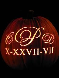 Wedding Pumpkin Carving Logos Monogram Events Themes Personalized