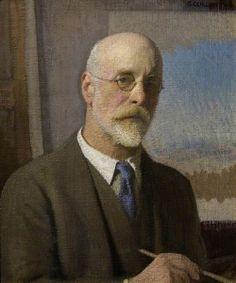 Sir George Clausen - Self Portrait
