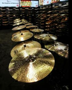 Go make some noise at the Meinl Cymbals stand! #namm2014 #namm #nammshow http://www.instagram.com/dolphinmusicshop