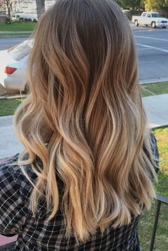 haircuts for balayage - Edeline approx. - haircuts for balayage – - haircuts for balayage – Edeline approx. – haircuts for balayage – - Ombre Hair Color, Brown Hair Colors, Cabelo Ombre Hair, Brown Hair Balayage, Balayage Hairstyle, Long Bronde Hair, Brown Hair Dyed Blonde, Long Bob Balayage, Blonde Foils