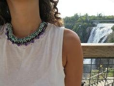 i love do it yourself: DIY un collier multi rangs! DIY a multi-layered necklace!