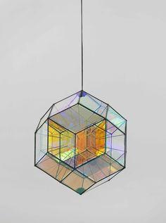 Small rhombic core lamp Olafur Eliasson