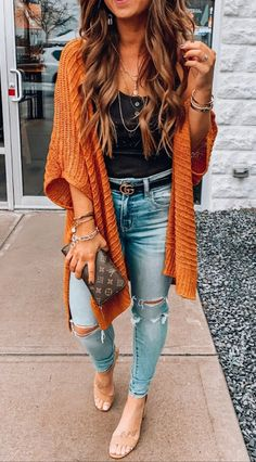 27 cute fall outfits for women check out casual fashion trendy outfits fashion inspo fall winter outfits autumn winter fashion Simple Fall Outfits, Fall Winter Outfits, Winter Clothes, Cute Spring Outfits, Ootd Summer Casual, Summer Casual Outfits For Women, Holiday Outfits Women, Boho Summer Outfits, Casual Winter