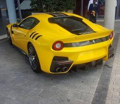 #FerrariFriday with a beastly F12tdf at @scuderiaferrariza and captured by @markoerlank   #ExoticSpotSA #Zero2Turbo #SouthAfrica #Ferrari #F12tdf