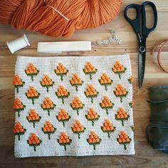 Hilla bag for Lankava F/W 16-17 collection, patterns are out sooooon from lankava.fi. ♡ #mollamillscrochetterie #mollamillsforlankava #crochet #virkkuri #cloudberry #hilla #crocheteverything