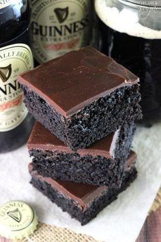 #Recetas originales con #cerveza - #brownie #chocolate
