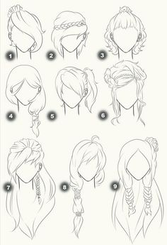 Cut Take Text Nullipara Girls Hairstyles How To Draw Manga Anime . - Cut Take Text Nullipara Girls Hairstyles How To Draw Manga Anime Hair # - Drawing Techniques, Drawing Tips, Drawing Sketches, Painting & Drawing, Drawing Ideas, Hair Styles Drawing, Hair Styles Anime, Drawing Style, Drawing Drawing
