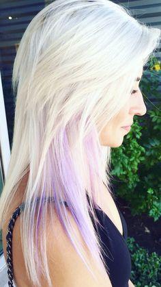 Violet Hair Colors, Purple Hair, Beautiful Haircuts, Lavender Hair, Hair Shades, Crazy Hair, Platinum Blonde, About Hair, Hair Highlights