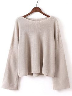 GET $50 NOW   Join RoseGal: Get YOUR $50 NOW!http://m.rosegal.com/sweaters/bell-sleeves-ribbed-knitted-pullover-772754.html?seid=dugn903mc832mao7m4b2r8p9c3rg772754